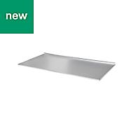 GoodHome Metallic effect Cabinet liner, 1m