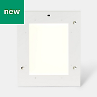 GoodHome Tasuke White Cabinet light, (W)264mm