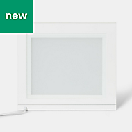 GoodHome Tasuke White Cabinet light, (W)364mm