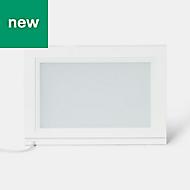 GoodHome Tasuke White Cabinet light, (W)464mm