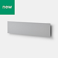 GoodHome Grey Magnetic strip, (H)150mm