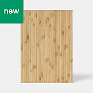 GoodHome Datil Natural Chopping board