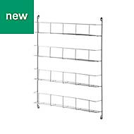 GoodHome Datil Anthracite Shelving