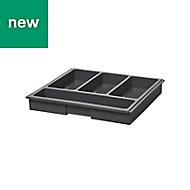 Plastic Cutlery tray, (H)50mm (W)550mm