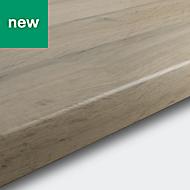 38mm Kabsa Matt Wood effect Laminate Post-formed Kitchen Worktop, (L)3000mm