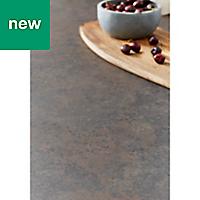 38mm Kala Matt Carnival Stone effect Laminate Square edge Kitchen Worktop, (L)3000mm