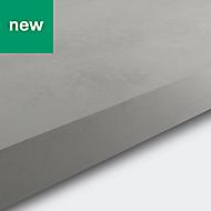38mm Kala Matt Concrete effect Laminate & particle board Square edge Kitchen Worktop, (L)3000mm