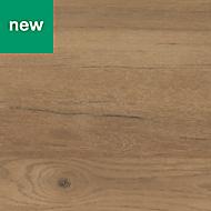 0.5mm Kabsa Matt Rustic Wood effect Laminate Post-formed Kitchen Worktop, (L)160mm