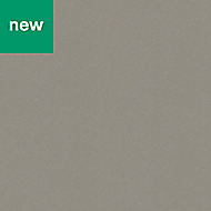 0.5mm Berberis Super matt Titan grey Laminate Square edge Kitchen Worktop, (L)160mm