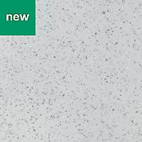 38mm Berberis Gloss White Star effect Laminate Square edge Kitchen Worktop, (L)3000mm
