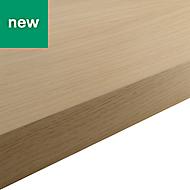 38mm Kala Matt Wood effect Laminate Square edge Kitchen Breakfast bar Worktop, (L)2000mm