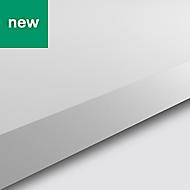 38mm GoodHome Berberis White Matt Laminate Worktop (L)3m (D)620mm