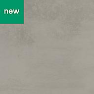 GoodHome Kala Matt Concrete effect Grey Worktop edging tape, (L)3m