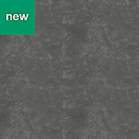 12mm Nepeta Matt Grey Resin Square edge Kitchen Worktop, (L)3000mm
