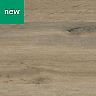0.5mm Kabsa Matt Wood effect Laminate Post-formed Kitchen Worktop, (L)160mm