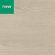 GoodHome Kala Matt Wood effect Laminate Upstand (L)3000mm