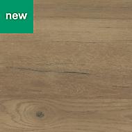 GoodHome Kabsa Matt Wood effect Laminate Upstand (L)3000mm