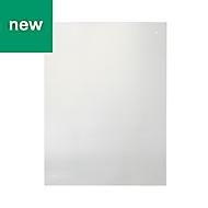 Nashi Transparent Tempered glass Splashback, (H)600mm (W)800mm (T)4mm