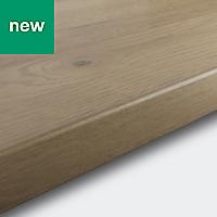 38mm Kabsa Matt Rustic Wood effect Laminate Post-formed Kitchen Worktop, (L)3000mm