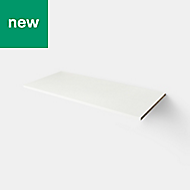 Caraway White Shelving (L)1000mm, Pack of 2