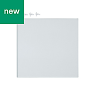GoodHome Cicely Transparent Shelf (L)294mm, Pack of 2