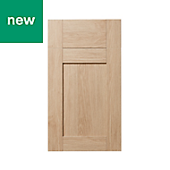 GoodHome Alpinia Oak effect shaker Drawerline door & drawer front (W)400mm