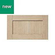 GoodHome Alpinia Oak effect shaker Drawer front (W)600mm