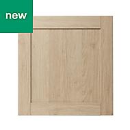 GoodHome Alpinia Oak effect shaker Appliance Cabinet door (W)600mm