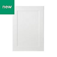 GoodHome Artemisia Matt white classic shaker Highline Cabinet door (W)500mm