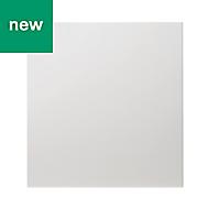GoodHome Alisma High gloss white slab Tall appliance Cabinet door (W)600mm
