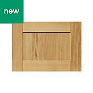 GoodHome Verbena Natural oak shaker Drawer front (W)500mm