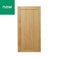 GoodHome Verbena Natural oak shaker Cabinet door (W)600mm