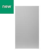 GoodHome Balsamita Matt grey slab Highline Cabinet door (W)400mm