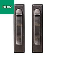 GoodHome Toum Pewter effect Cabinet handle (L)26mm, Pack of 2