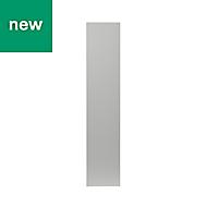 GoodHome Balsamita Matt grey slab Highline Cabinet door (W)150mm