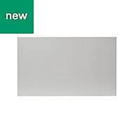 GoodHome Balsamita Matt grey slab Drawer front, bridging door & bi fold door (W)600mm