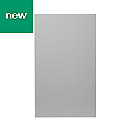 GoodHome Balsamita Matt grey slab Larder Cabinet door (W)600mm