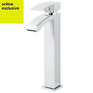 GoodHome Kepez 1 Lever Tall Basin mixer tap