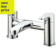 GoodHome Lecci Chrome plated Bath Mixer Tap