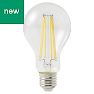 Diall E27 1521lm LED Dimmable GLS Light bulb