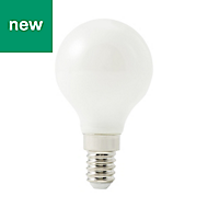 Diall E14 250lm LED Mini Globe Light bulb