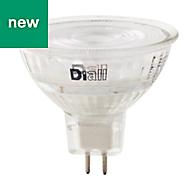 Diall GU5.3 345lm LED Reflector Light bulb, Pack of 3