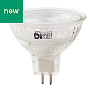 Diall GU5.3 345lm LED Reflector Light bulb, Pack of 3