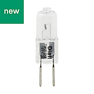 Diall GY6.35 40W Halogen Dimmable Capsule Light bulb, Pack of 4