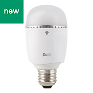 Diall E27 470lm LED GLS Light bulb