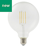 Diall E27 1521lm LED Dimmable Globe Light bulb