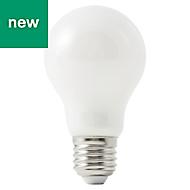 Diall E27 806lm LED GLS Light bulb, Pack of 3