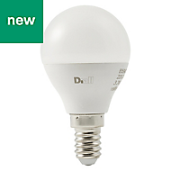 Diall E14 250lm LED Mini Globe Light bulb
