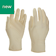 Latex Disposable gloves, Large