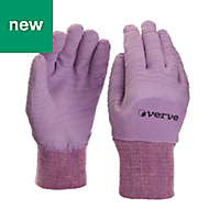 Verve Nylon Lavender Gardening gloves, Small